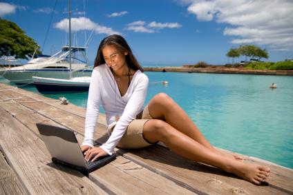 Surfer sur le web diminuerait le stress.
