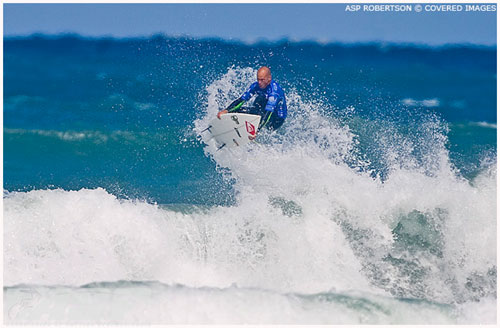 Un air double grab placé à quelques minutes de la fin pour remporter la finale de Bells Beach 2008: si ça ce n'est pas avoir un mental d'acier…
