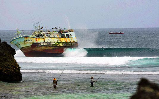 Marée noire à Bali ?