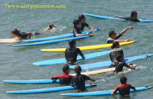 Trop d'écoles de surf à Anglet