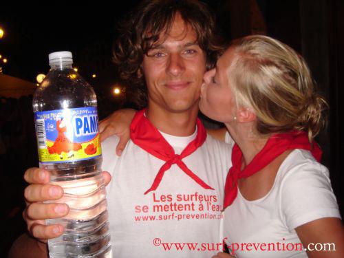 Bayonne 2008 : les surfeurs se mettent à l'eau…