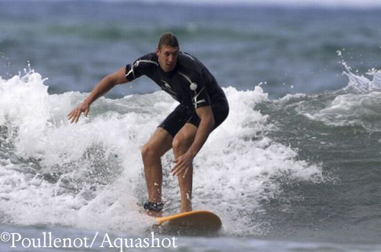 Surf et natation: faites comme Alain Bernard !