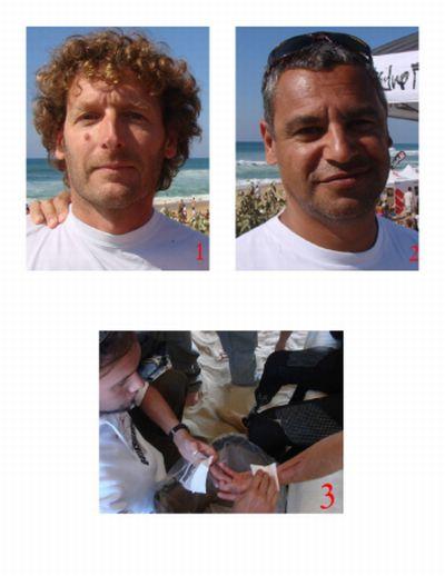 Médicalisation d'une compétition internationale de surf
