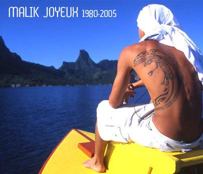 Malik joyeux