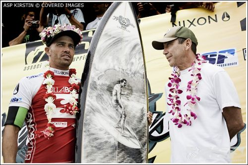 Le livre de Kelly Slater : For The Love
