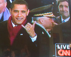 Le shaka présidentiel de Barack Obama