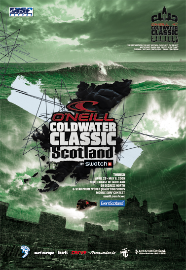 Le O'Neill CWC Ecosse en stand-by