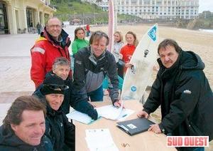 Le bac Surf à Biarritz. Photo Olivier Bonnefon.