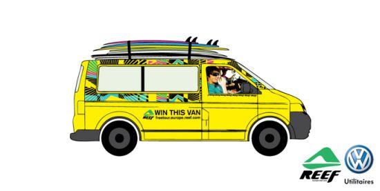 Combi VW Volkswagen California Beach Reef Tour