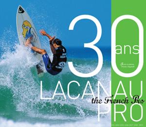 Livre 30 ans de Lacanau Pro par Thierry Organoff