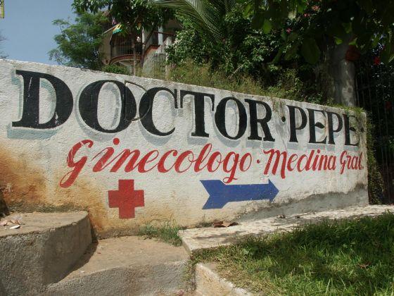 Accueil du Dr Pepe à Puerto Escondido
