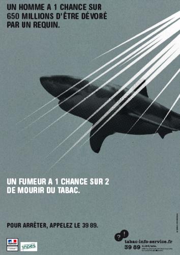 Mourir d'une attaque de requin : 1 chance sur 650 Millions