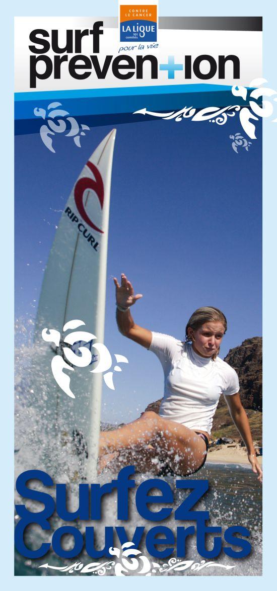Prévention solaire dans les écoles de surf