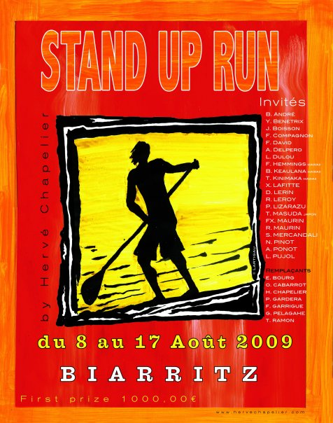 STAND UP RUN à Biarritz !
