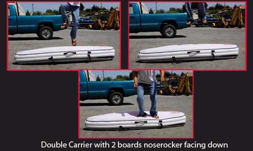 La housse de planche de surf gonflable !