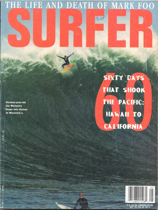 Flashback: le Wipeout de Jay Moriarity à Mavericks