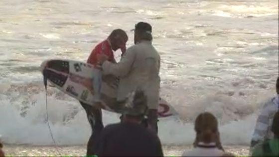 Owen Wright 7 rupture tympanique chez ce surfeur professionnel