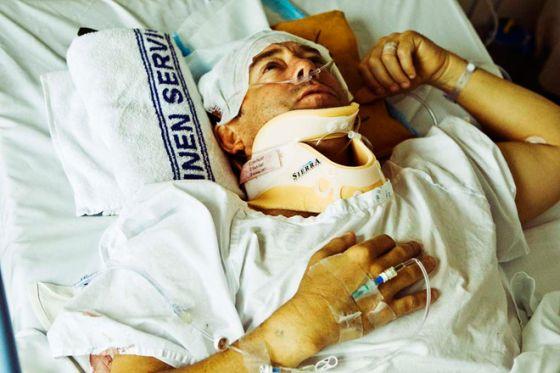 Le surfeur Rob Bain blessé grièvement à la tête