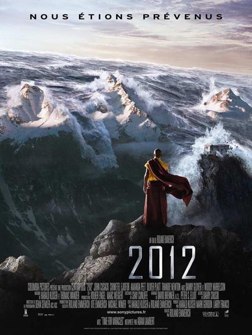 2012 : des vagues dans le métro pour annoncer la fin du monde…