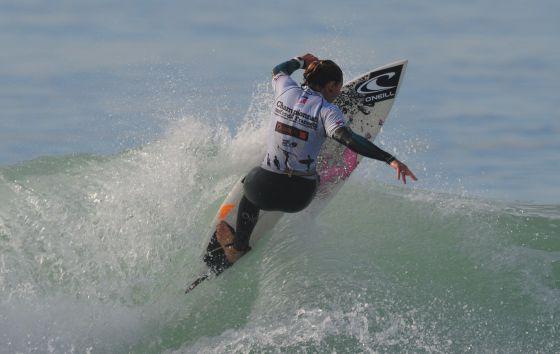 Surf : Amandine Sanchez championne de France 2009 !