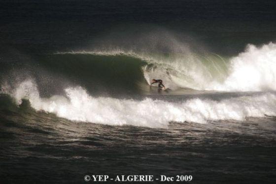 Surf Algérie Décembre 2009 Copyright Antony Yep Colas