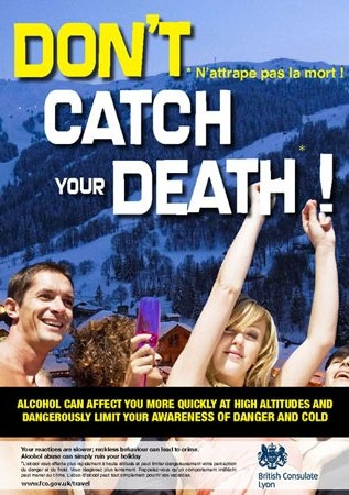 dont catch your death : n attrape pas la mort