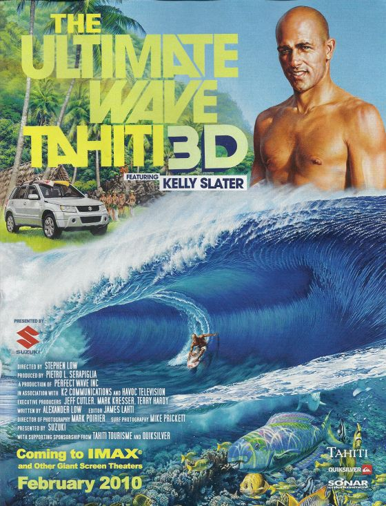 Kelly Slater dans The Ultimate Wave Tahiti 3D