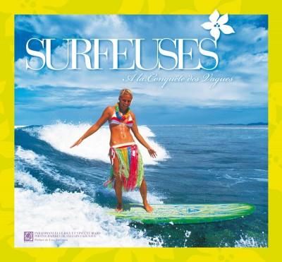 Livre Surfeuses par Vincent Biard et Emmanuelle Joly Couverture Editions Surf Session