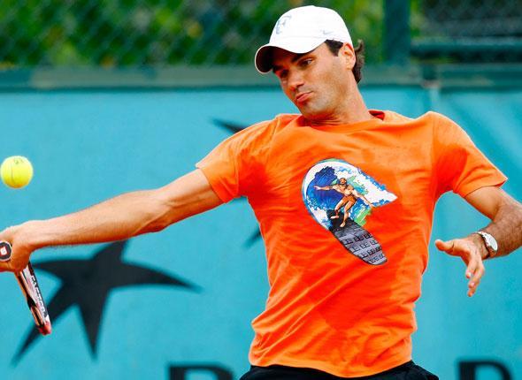 Roger Federer aurait pu être un surfeur…
