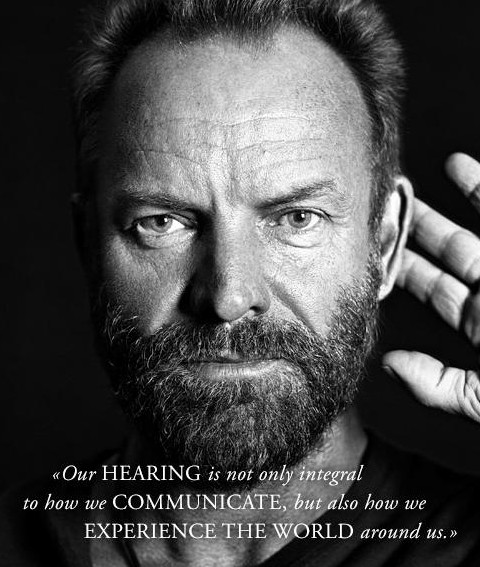 Prévention : Sting s'engage contre les troubles de l'audition