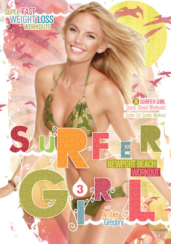 Surfer Girl Workout Fitness Exercices pour avoir un corps de déesse avant d'aller surfer...