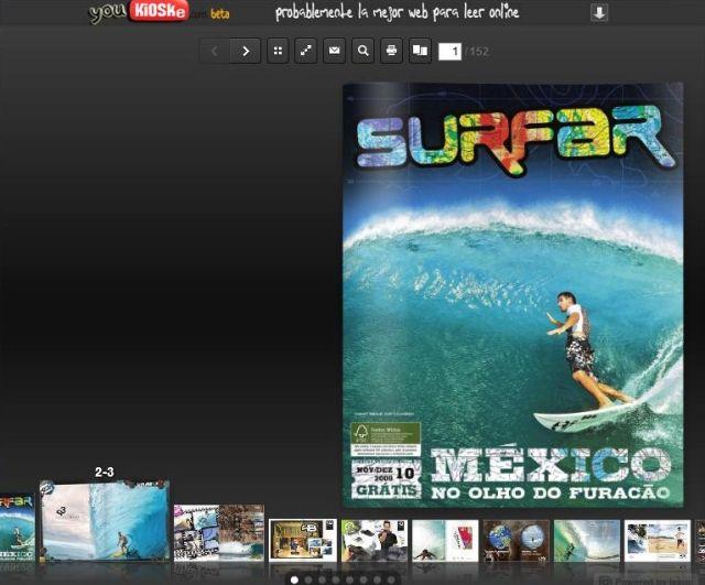 Comment lire la presse Surf gratuitement sur Internet ?