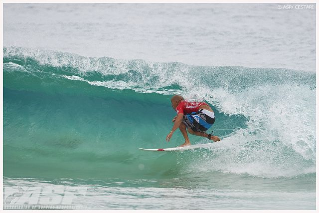 Kelly Slater - Snapper Rocks - Quiksilver Pro Gold Coast Australie 2010 - Copyright ASP