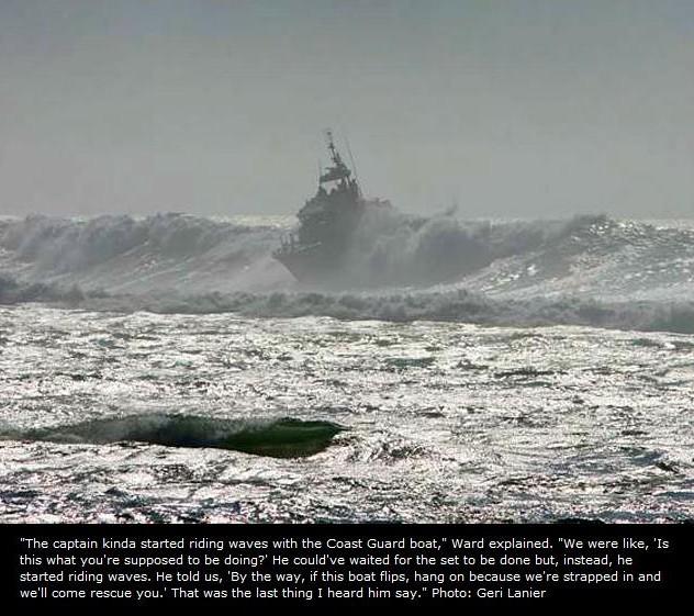 Le surfeur Chris Ward victime d'un accident de sauvetage…