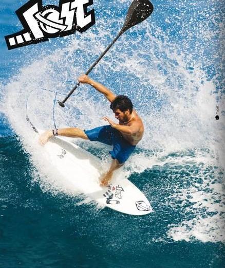 Du surf radical en stand-up paddle !