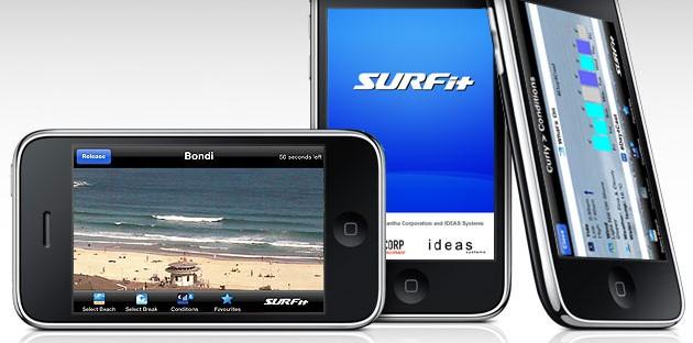 Surfit : une application iPhone géniale pour surfer en Australie !