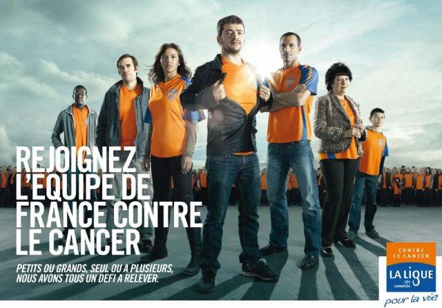 Faites équipe avec la Ligue contre le Cancer sous le même maillot !