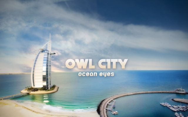 Owl City - Ocean Eyes - pochette de l'album d'Adam Young