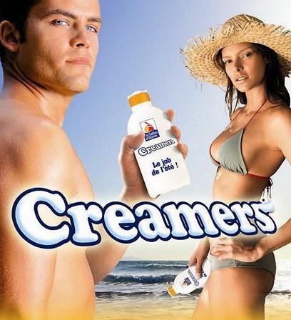 Creamers : le job de l'ete aux Sables d'Olonne pour passer de la creme solaire et donner des conseils de prevention solaire aux touristes - affiche prevention solaire -