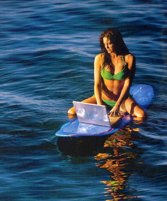rencontre femme surfeuse