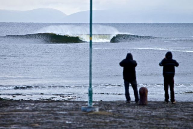 Le surf en Ecosse se merite - Photo O'Neill CWC Scotland 2010
