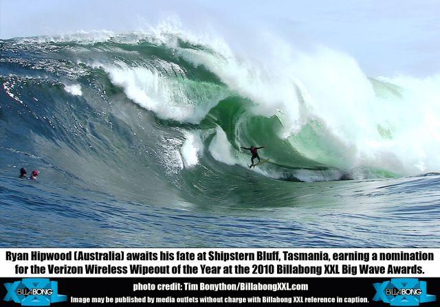 Prix Billabong XXL : la pire chute en surf de l'année…
