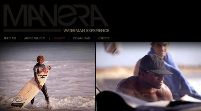 Manera Waterman Experience Film Kite Surf F One Kites avec Mitu Monteiro