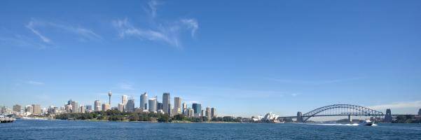 Sydney en Australie est l'une des plus belles villes du monde au bord de la mer.