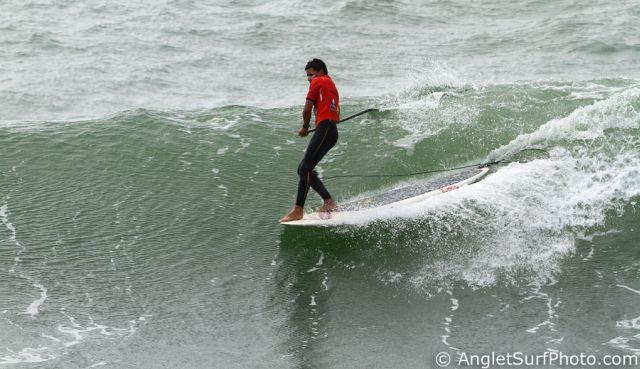 Compétition Stand Up Paddle Anglet : Antoine Delpero et Peyo Lizarazu en finale !