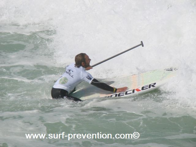 Eric Terrien Stand Up Paddle SUP World Tour Anglet