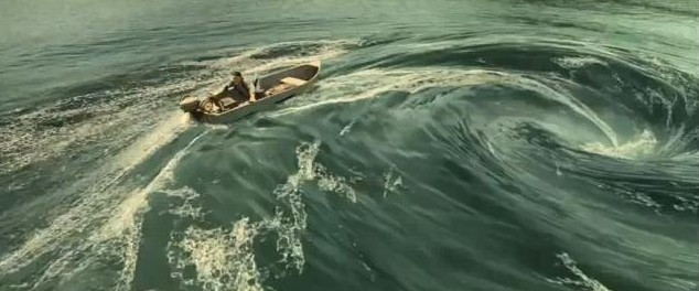 Pirhana 3D Le Film Image du bateau pris dans une vague