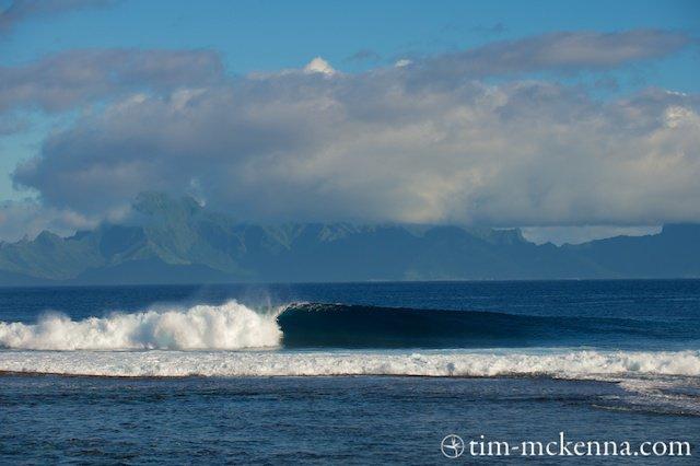 Sapinus - spot de surf - Tahiti