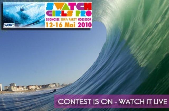 Swatch Girls Pro live sur Surf Prevention