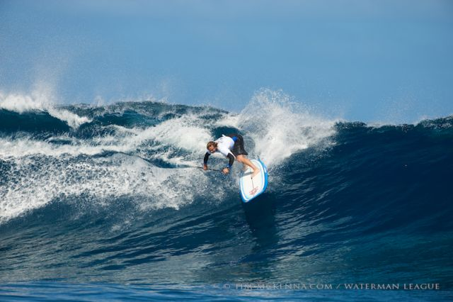 Stand Up Paddle: Dave Muir gagne le He'e Nalu TNTV Sapinus Pro